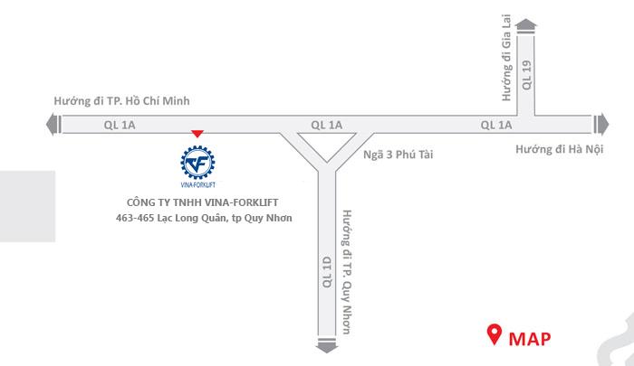 Vina-Forklift map