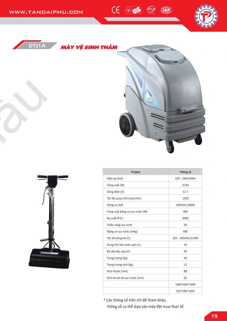 Máy vệ sinh thảm chất lượng cao, giá thành rẻ
