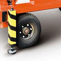 Phần bánh xe của Xe nâng người dạng cắt kéo SJY