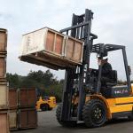 Xe forklift nâng hàng trọng tải lớn