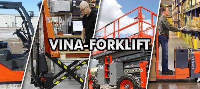 Phân phối xe nâng tay, xe forklift, xe nâng điện trên toàn quốc