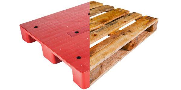 Pallet nhựa và Pallet gỗ: Loại nào tốt hơn?