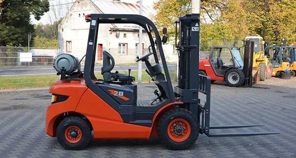Xe nâng forklift Gas/LPG LG20GLT nhập khẩu
