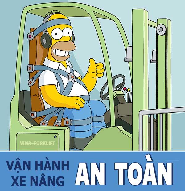Quy tắc vận hành xe nâng an toàn