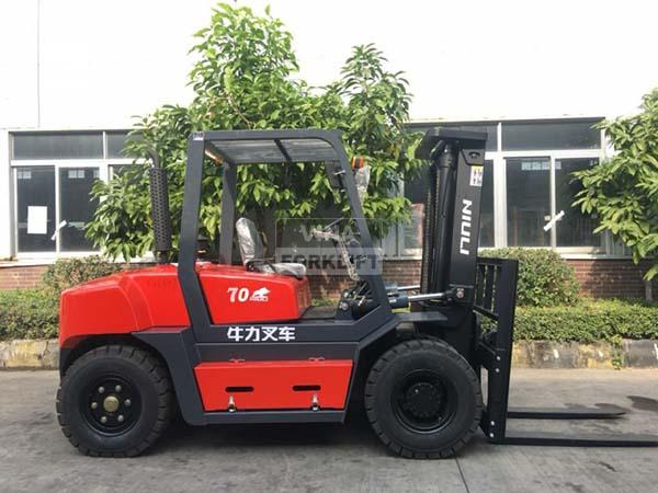 Xe nâng dầu 7 tấn Trung Quốc