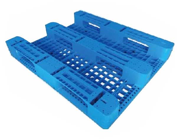 Mặt dưới Pallet nhựa 1200x1000x155mm