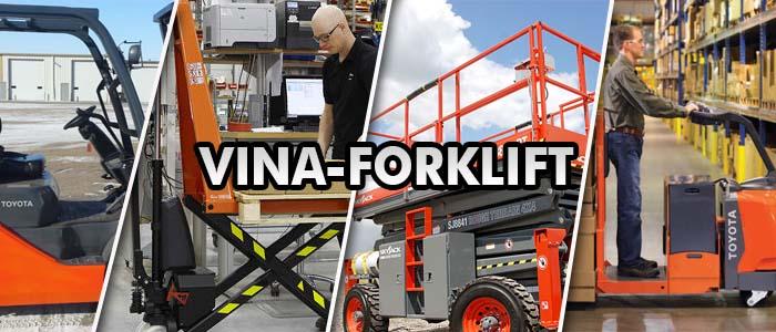 Phân phối xe nâng tay, xe nâng điện, xe forklift, xe nâng người