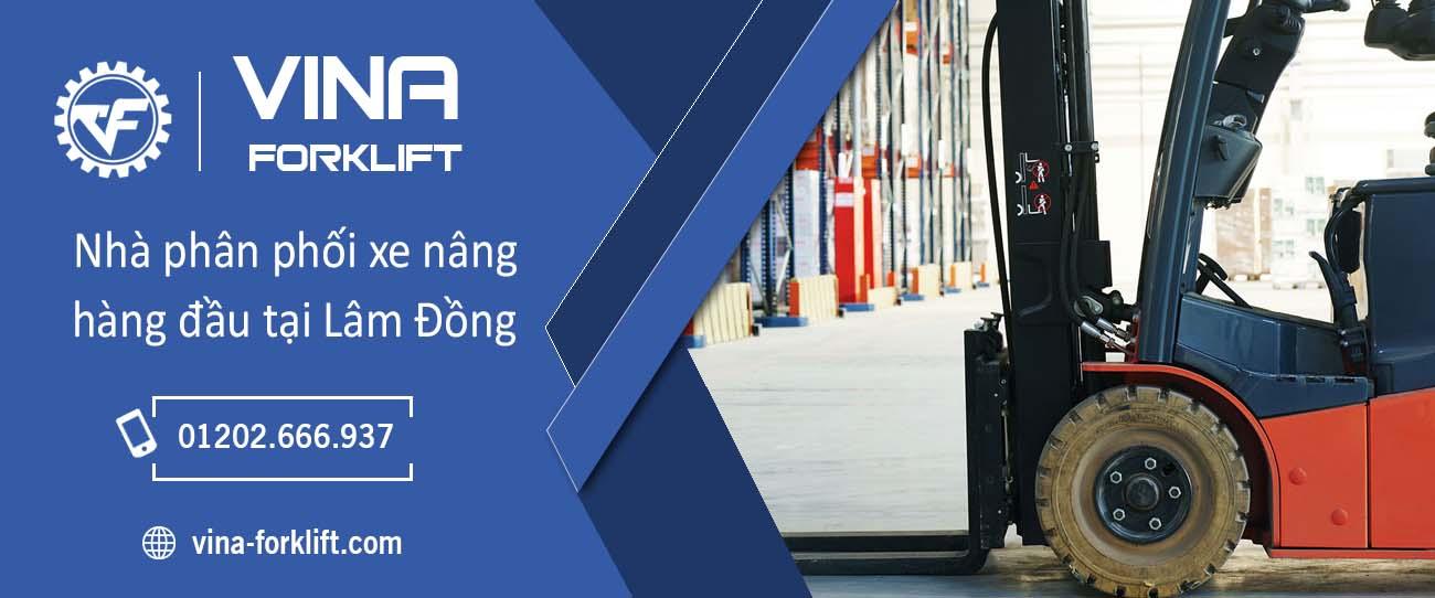 Phân phối xe nâng tại Lâm Đồng