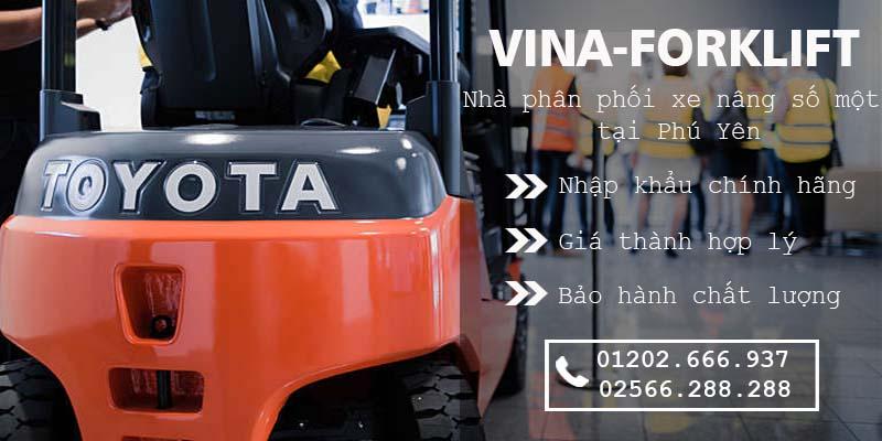 Nhà phân phối xe nâng tại Tuy Hòa, Phú Yên