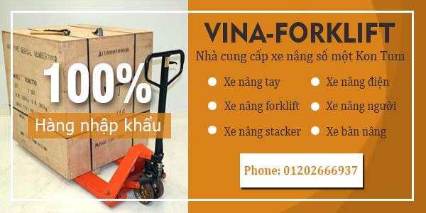 Kinh doanh, phân phối xe nâng tại Kon Tum