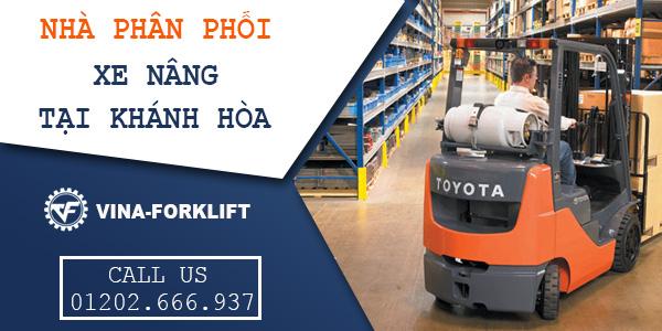 Phân phối xe nâng tại Khánh Hòa, Nha Trang, Cam Ranh