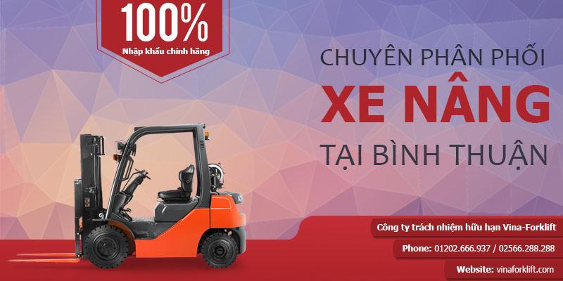 Phân phối xe nâng tại Bình Thuận